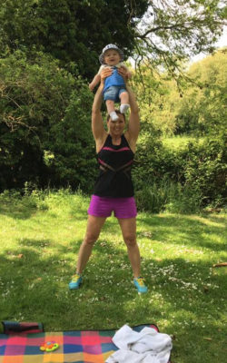 Post Natal Training Pictures
